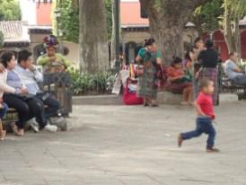 Sonntags nachmittags auf dem Plaza central