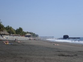Strandleben bei 30 Grad