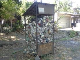 Manchmal wird auch recykelt.