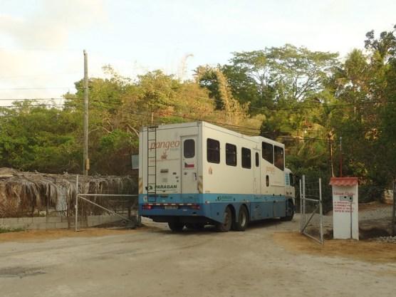 Damit reisen 15 Tschechen als organisierte Reise 4 Wochen Mexiko- Panama.