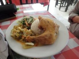 typisches Mittagessen