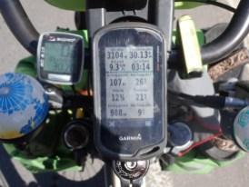 12% Steigung in 3100 Meter Höhe...