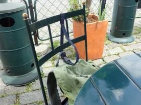 Klau-Sicherung an jedem Stuhl