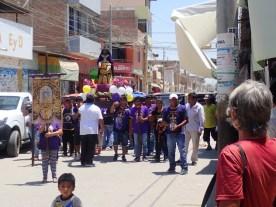"Prozession für den ""Senor de las Milagros"""