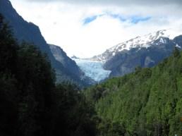 Von solch einem Gletscher ...