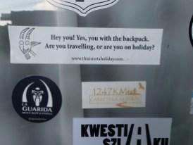 Bist Du auf der Reise ...