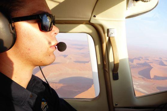 Namibia-Flug-Namib-Pilot