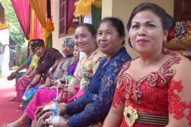Bali-Hochzeit-Frauen