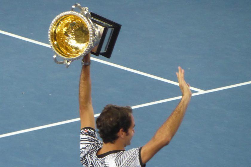 Roger Federer gewinnt die Australian Open | Wunschaktion bei der Weltreise von Elke Zapf und Wolfgang Eckart