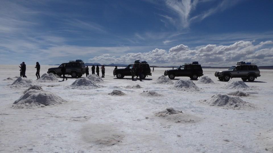 Bolivien Uyuni Jeepparade | aufmerksam reisen