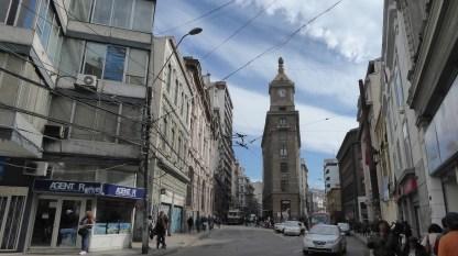 Chile-Valparaiso-Bankenviertel