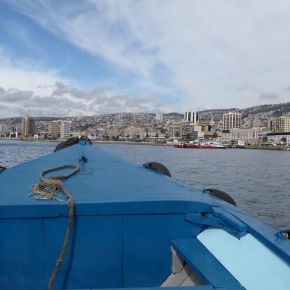 Chile-Valparaiso-Hafenrundfahrt-Blick