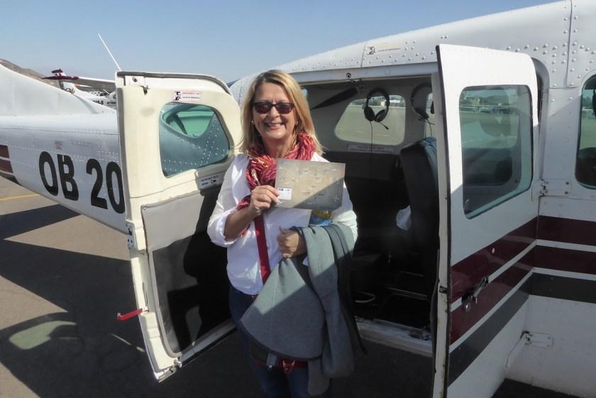 Flug über die Nasca-Linien | Wunschaktion bei der Weltreise von Elke Zapf und Wolfgang Eckart