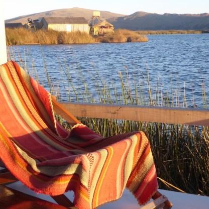 Peru-Titicacasee-Lodge-Liegestuhl