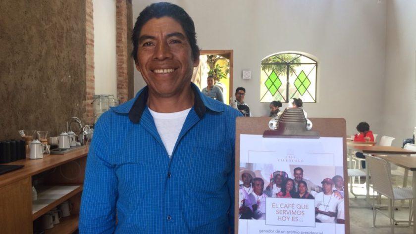 Mexikanischer Kaffeebauer | Wunschaktion bei der Weltreise von Elke Zapf und Wolfgang Eckart