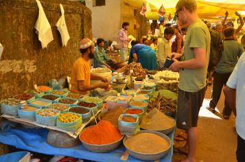 Markt im Nachbarort