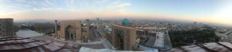 Blick vom Minarett runter