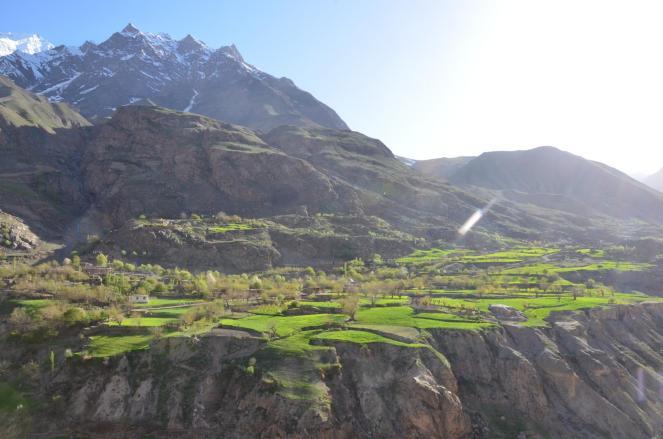 Blick nach Afghanistan