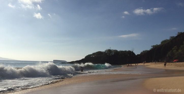 ...und immer wieder diese Wellen!