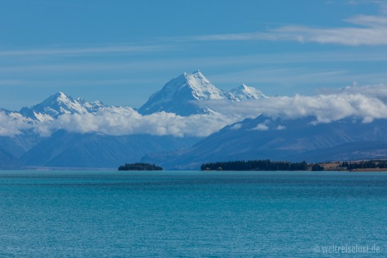 Lake Pukaki und Mt. Cook