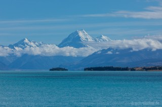 Lake Pukaki und Mt. Cook