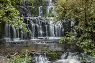 Die Purakanui Falls
