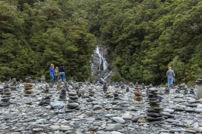 So viele Steinmännchen haben wir noch nie auf einem Fleck gesehen