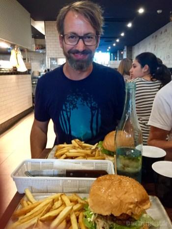 """Burgeressen in der """"Marcelleria"""" -lecker!"""