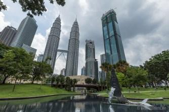 Unterhalb der Petronas-Türme befindet sich ein riesiges Shoppingzentrum