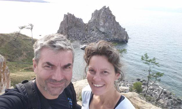 Insel Olchon am Bajkal See