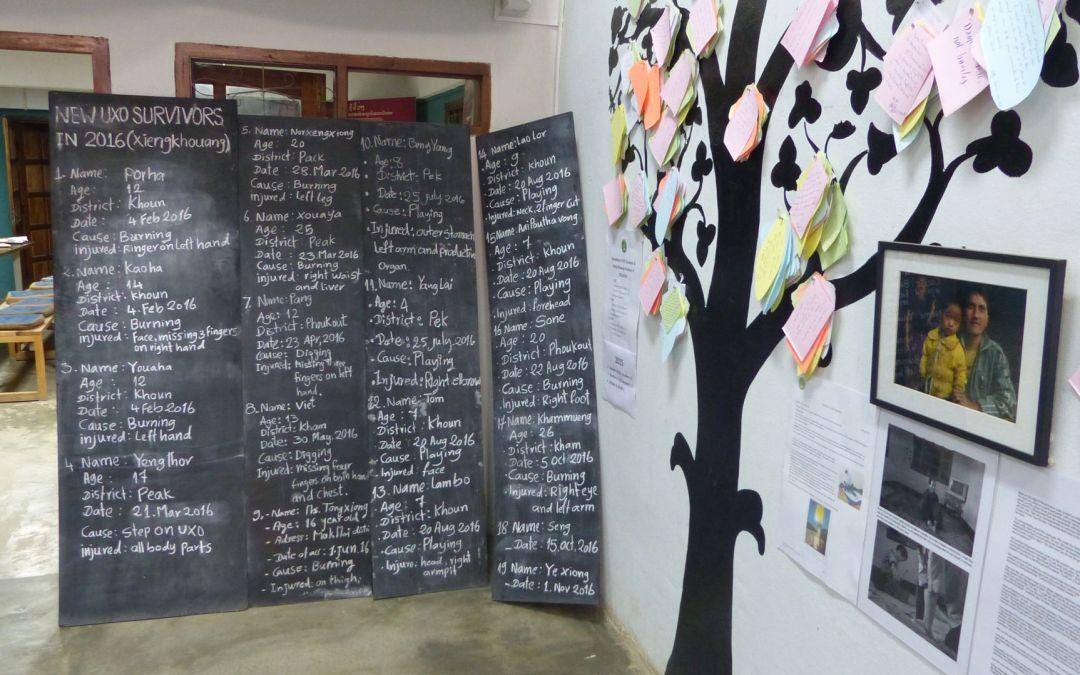 Phonsavan in Laos – Steinkrüge und der Krieg