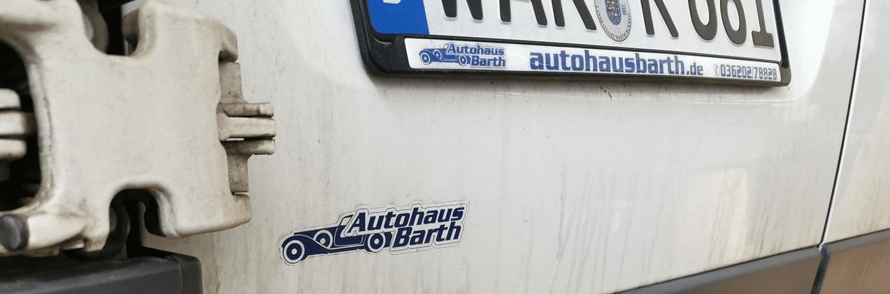 Autohaus Barth aus Amt Wachsenburg – eine grausame Erfahrung