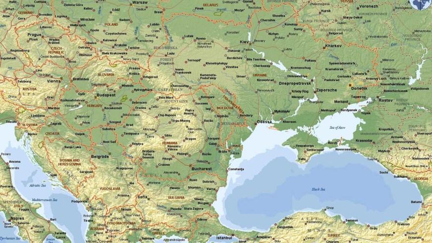 Weltrekordreise, Europa, Osteuropa, Moldawien, Moldau ...