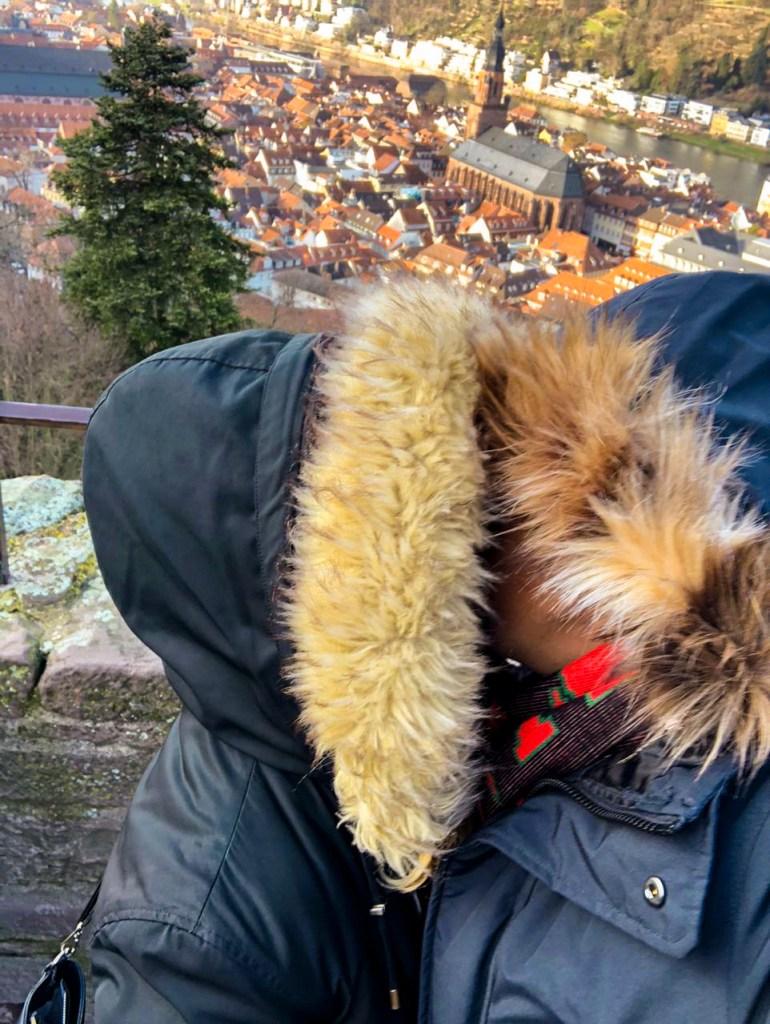 Küssen im Winter