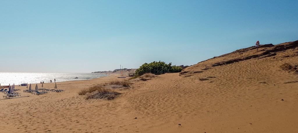 Der schöne Issos Strand
