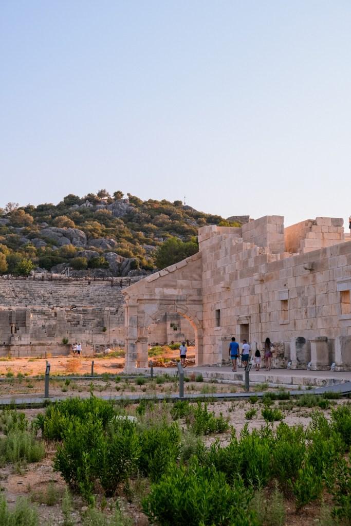 Die Ruinen von Patara