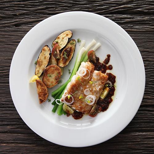 Puratierra argentine honest food,  fishing dish