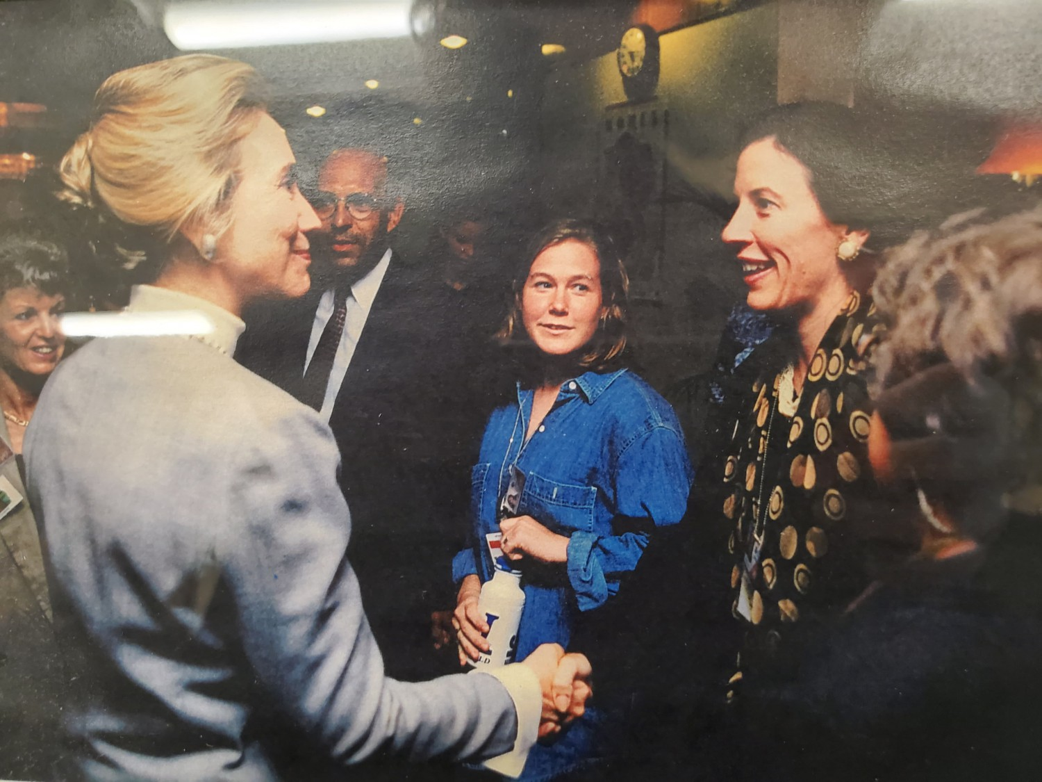 Kate and Hillary Clinton