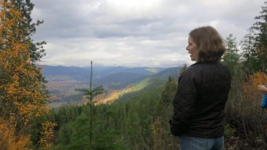 After lunch, we traveled to the CDLT Mountain Home Preserve ridgetop, overlooking the town of Leavenworth.