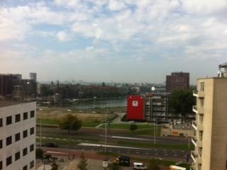 Uitzicht ziekenhuis Rotterdam