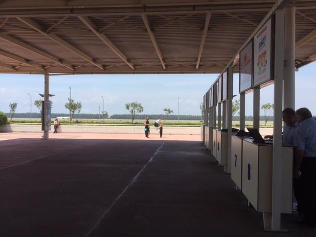 Buiten vliegveld