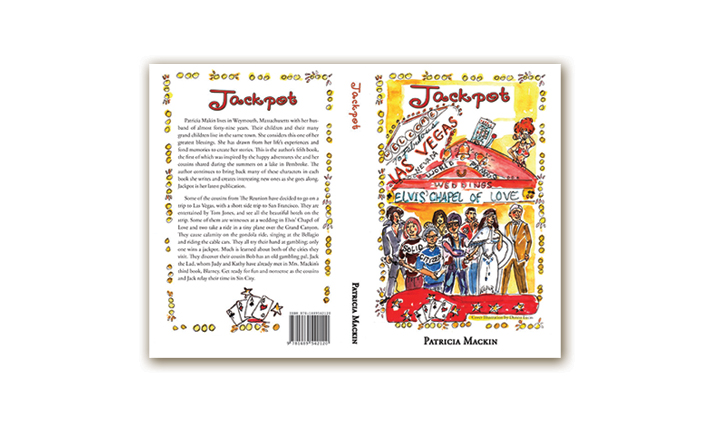 Fiction Book Cover – Jackpot