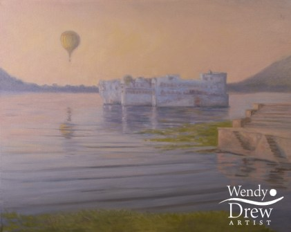 Sunrise, Lake Palace, Pichola Lake, Udaipur