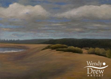 Spring beach, Walberswick
