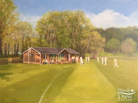Summer at Fonthill Park Cricket Club