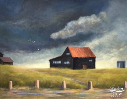 Stormy skies, Walberswick
