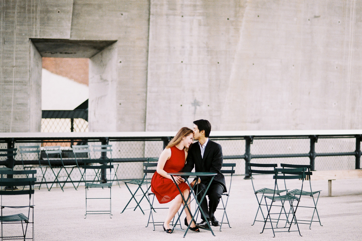 high line engagement portrait session by wendy g photography