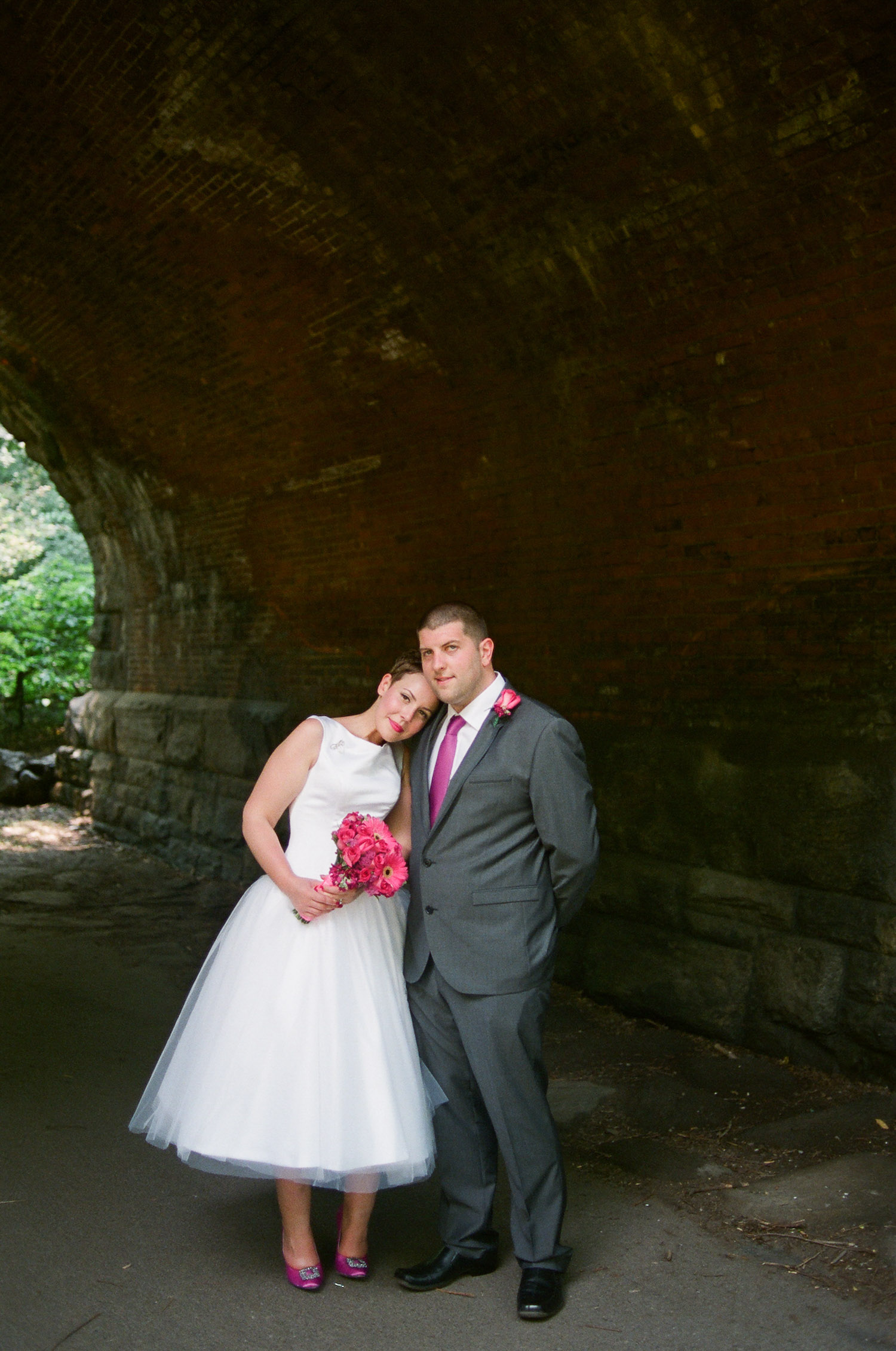 nyc central park mini wedding couple portrait photo by wendy g photography
