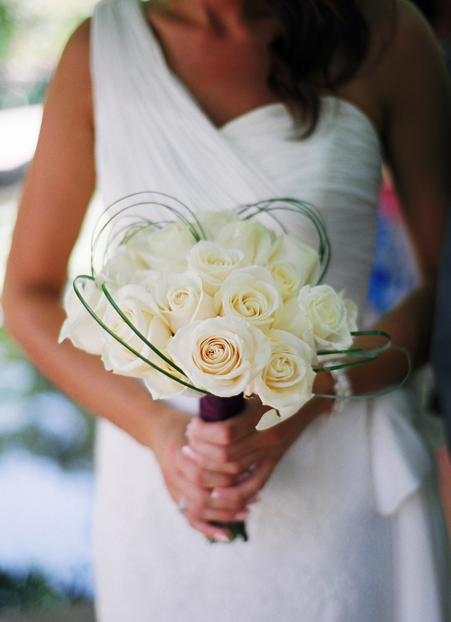 nyc conservatory garden mini wedding bouquet photo by wendy g photography
