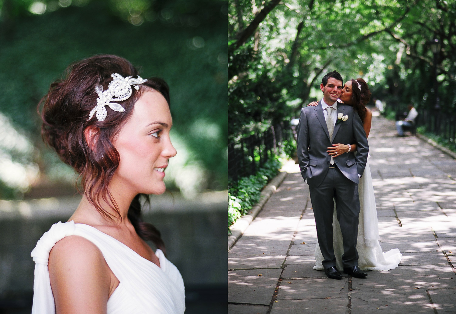 nyc conservatory garden mini wedding photos by wendy g photography